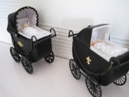 reconditioned leather prams